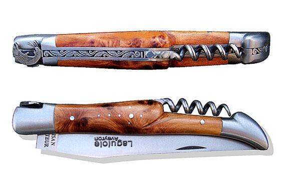 couteau laguiole tire bouchon